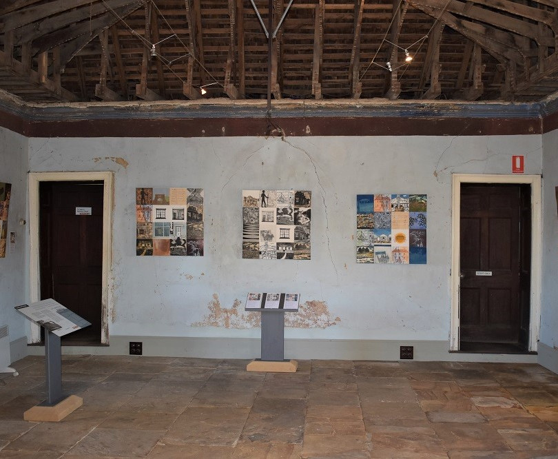 In Situ Printing Oatlands exhibition