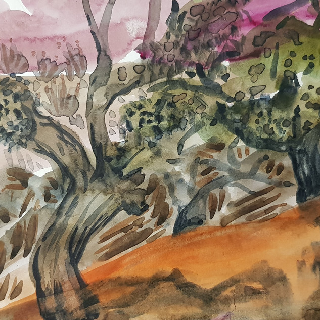 Fowlers Gape Riverbed sketch-Lakeland.jp