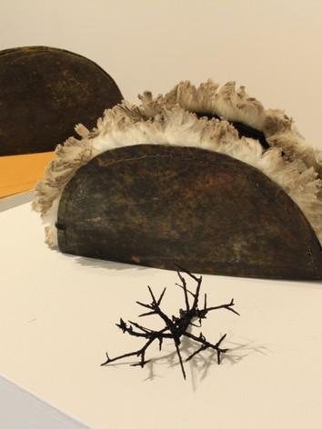 Replica convict cap with merino wool