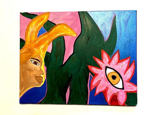 Rabbit & Flower Spirit