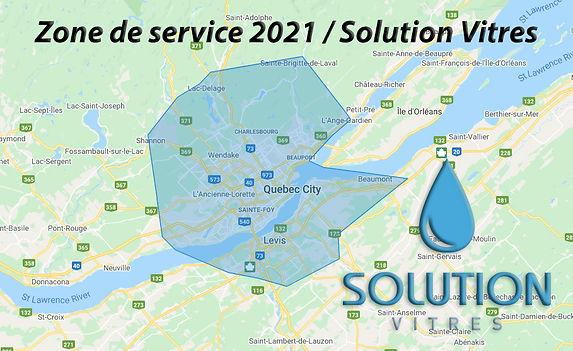 Zone de service Solution Vitres INC 2021