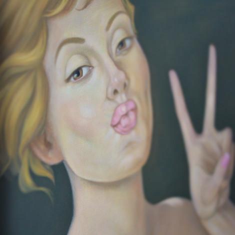 #Selfie II- Me2 X close-up