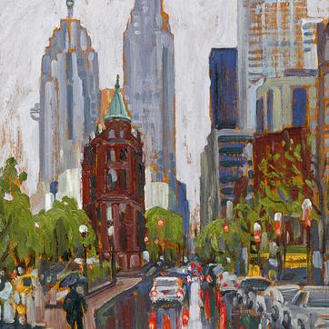 Toronto Flatiron sketch