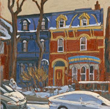Houses on Grange Ave.