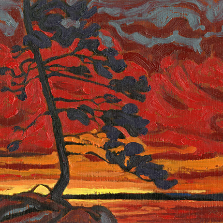 Canadian Sunset study
