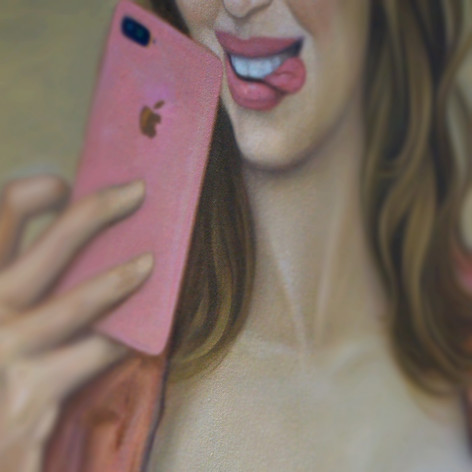 #Selfie IV-Apple of my Eye X close-up