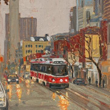 Queen West Streetcar