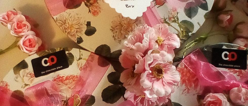 Medium Rose Keepsake Chocolate Box (Box of 16)