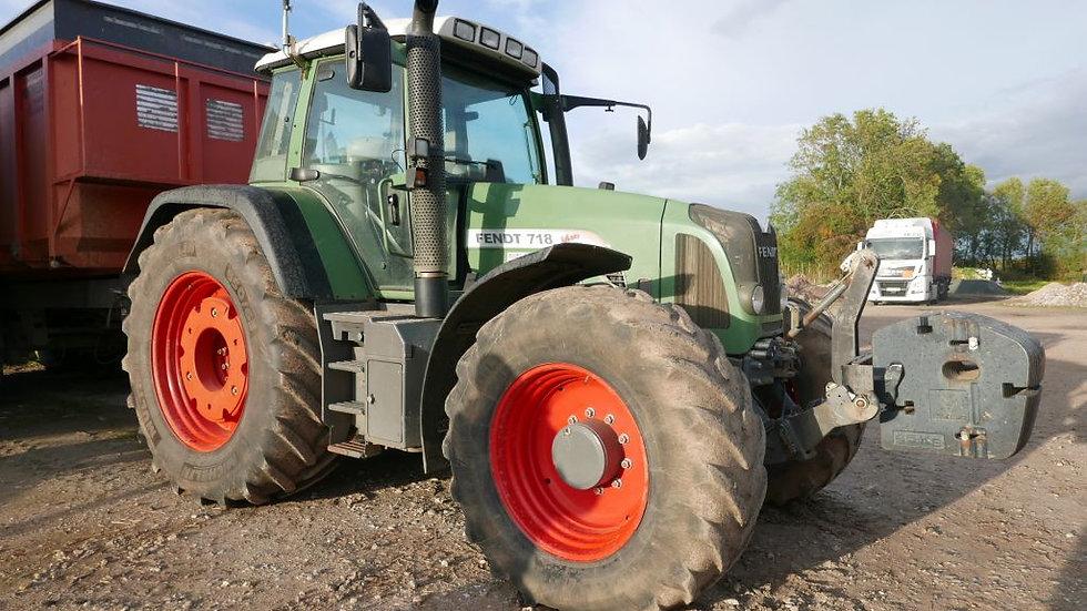 Tracteur Fendt 718