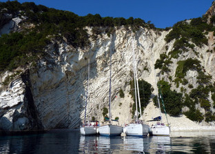 Yachting in the Ionian