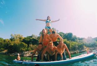Sup boarding fun