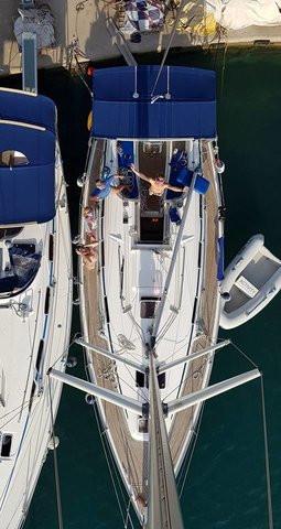 Flotilla sailing, Greece