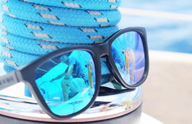 Close up sunglasses photo