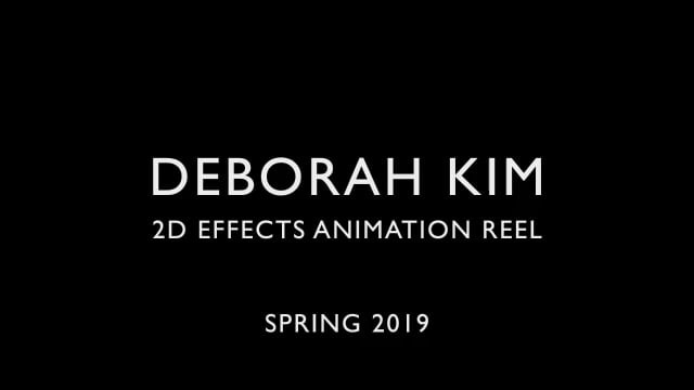 2D Effects Animation Reel (2019)