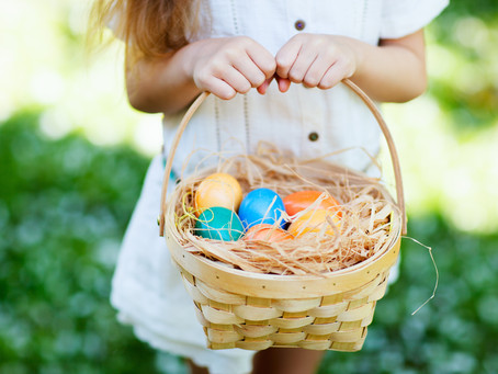 A Modern Easter Egg Hunt Party