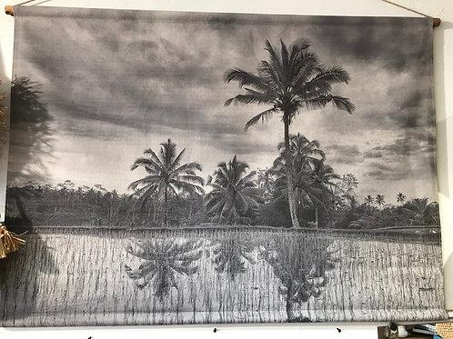 Toile palmier