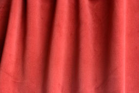 Burgundy Cotton Velvet Flame Retardant Theater Fabric