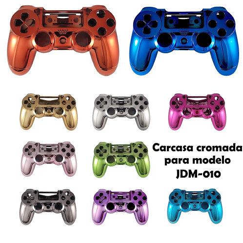 Carcasa cromada mando PS4