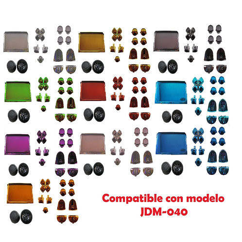 Botones cromados mando PS4
