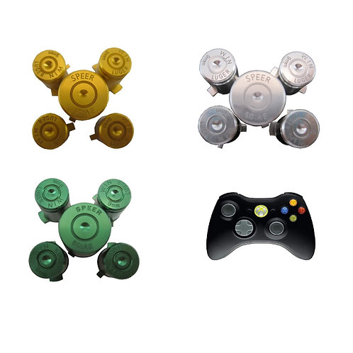 Botones bala mando Xbox 360