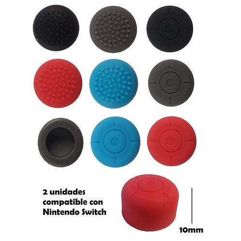 2 Alzadores de stick silicona Nintendo switch