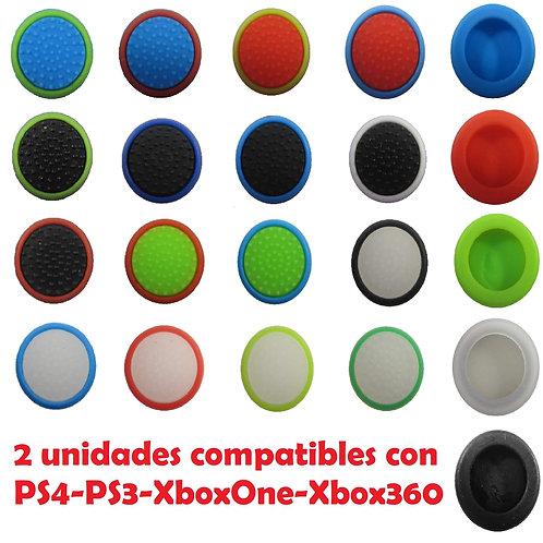 Fundas de stick a dos colores mando Xbox360/XboxONE/PS3/PS4 I