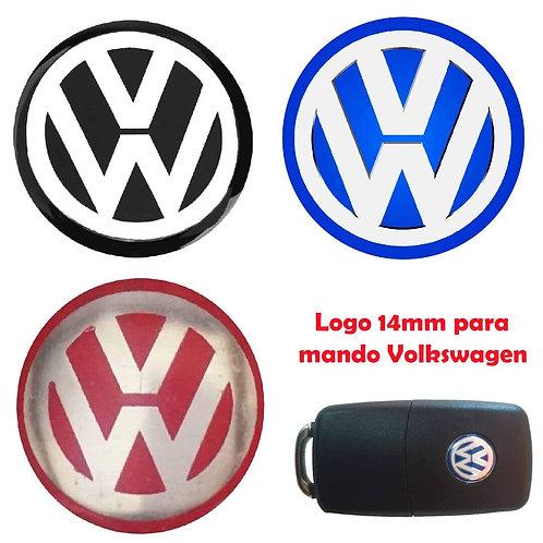 Logo Volkswagen para Llave