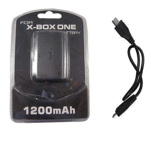Batería 1200mAh + cable mando Xbox One