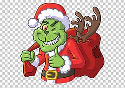 grinch-sticker-telegram-santa-claus-clip