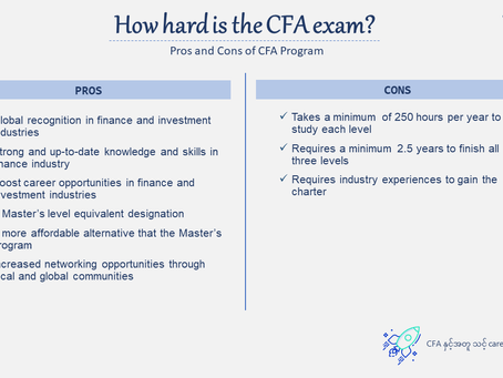 How hard is the CFA exam?
