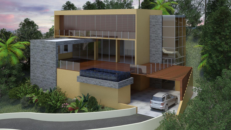 projeto residencia luxo lza