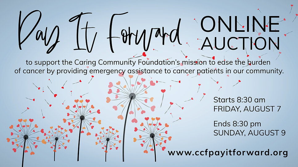 2019 Pay It Forward Online Auction Photo