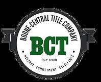 Boone Central Title Company Logo