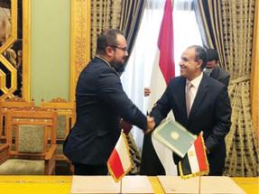 وفد بولندي برئاسة وكيل وزارة الخارجية يزور مصر