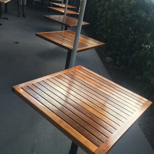 Doc B's (Fort Lauderdale) Exterior Tables - After