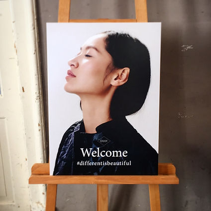 Welcoming Sign Oilily Catwalkshow FW16.J