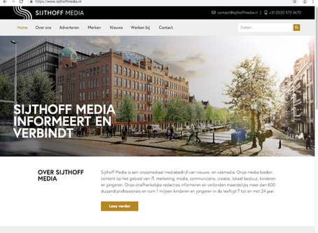 New website Sijthoff Media live
