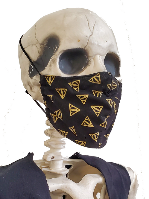 Deathly Hallows Face Mask