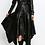 Thumbnail: Asymmetrical Faux Leather Dress