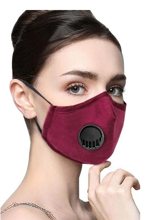 Unisex Sponge Mask with Respirator