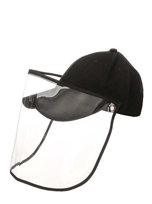 Cap with Detachable Shield