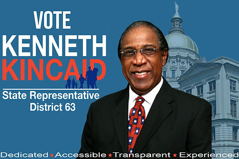 Kenneth Kincaid - Candidate SR District