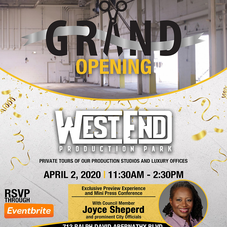 West End Production Park Movie Studio Grand Opening