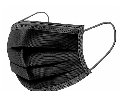 Black Disposable Mask