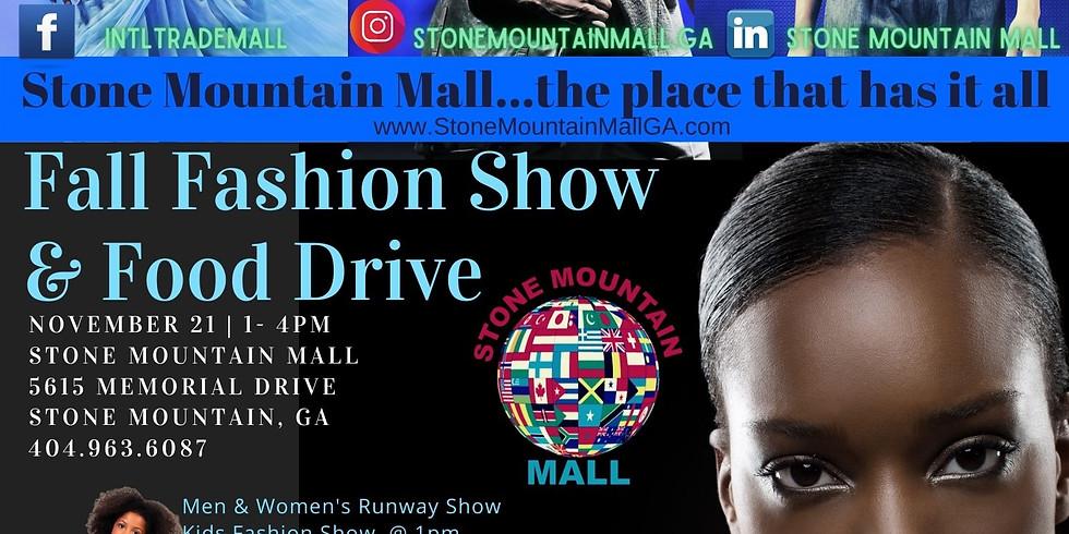 Fall Fashion Show and Food Drive