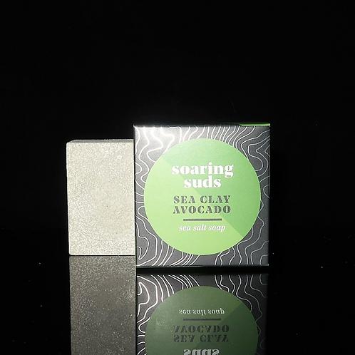 Sea Salt Soap- Avocado