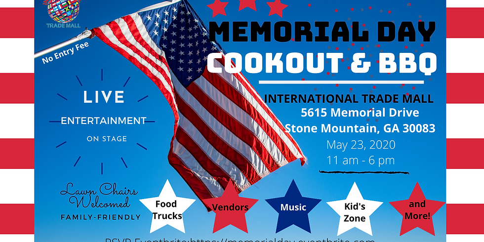 Memorial Day Cookout and BBQ