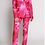 Thumbnail: Tie Dye Pink Pant Suit