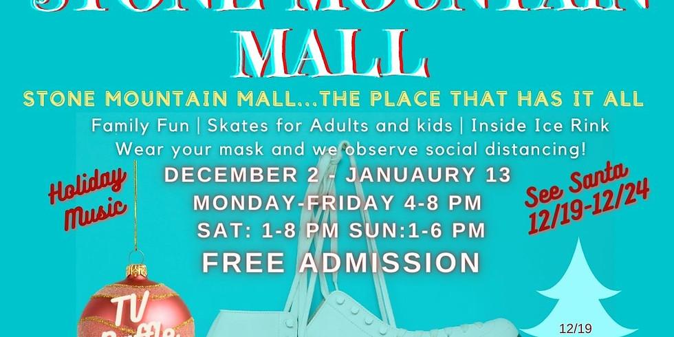 FREE Ice Skating at Stone Mountain Mall