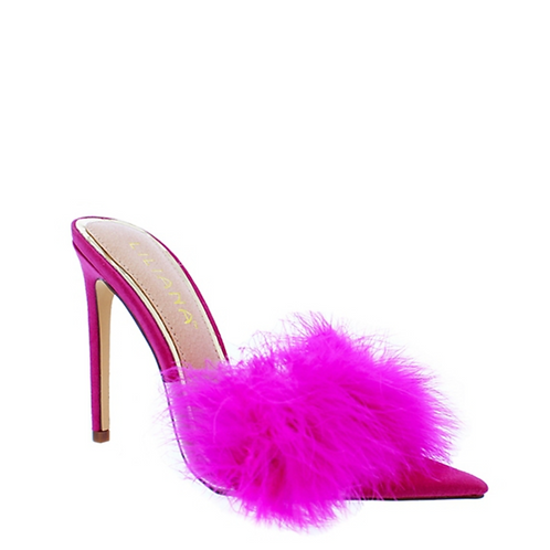 Tulle Mule Shoes